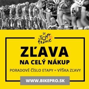 BIKEPRO - zľavy počas Tour de France