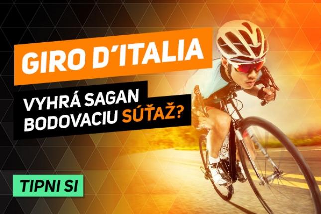 Podmaní si Sagan po vzore Tour aj Giro? V bodovacej súťaži nie je väčšieho favorita