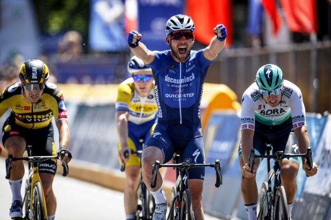 Belgicko: V závere sa triumfu dočkal aj Cavendish, zdolal Merliera s Ackermannom