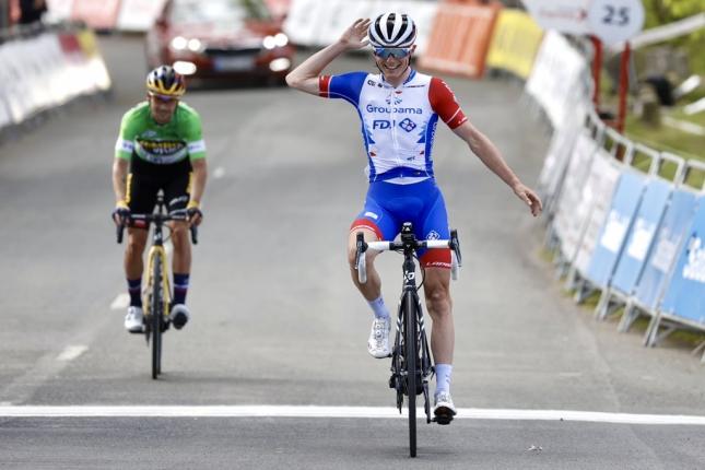 Baskicko: Poslednú etapu získal Gaudu, Roglič bral žltý, zelený aj bodkovaný dres