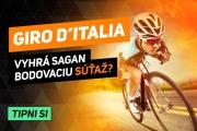 Saganove etapové šance na Gire: Tri výborné, tri solídne