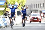 Baskicko: V úniku dominovala dvojica z Deceuninck - Quick-Step, Honoré prišiel do cieľa spoločne s Černým
