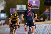 Brabantský šíp: V súboji troch najlepších na páske Pidcock zdolal Van Aerta s Trentinom