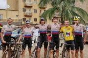 Lukáš Kubiš zvládol aj poslednú etapu GP Chantal Biya a získal žltý dres, ďalšie dve klasifikácie i množstvo UCI bodov