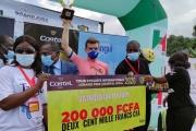 Chantal Biya: Kubiš sa v špurte ťukol so súperom, no celkovo skončil druhý, vyhral bodovačku
